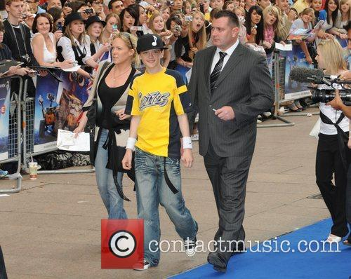 George Sampson WALL.E premiere held at the Empire...