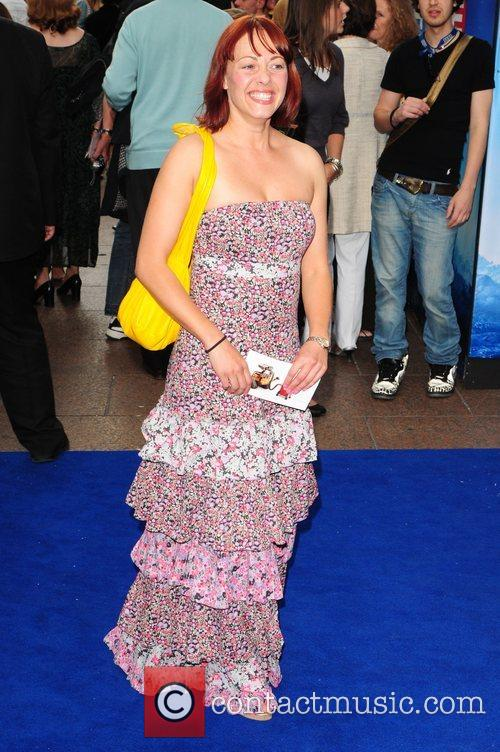 Sarah Cawood WALL.E premiere held at the Empire...
