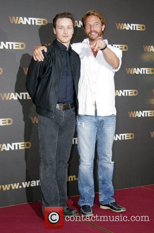 Photocall for the movie Wanted at Adlon Hotel