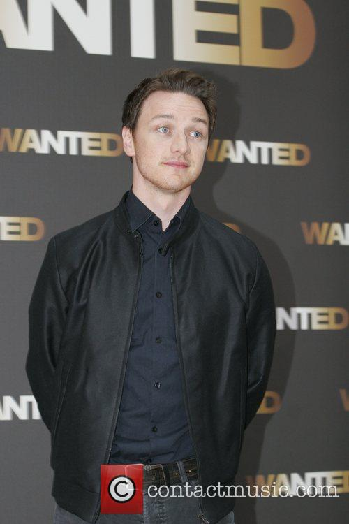 James McAvoy Photocall for the movie Wanted at...