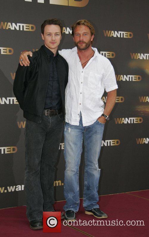 James McAvoy, Thomas Kretschmann Photocall for the movie...