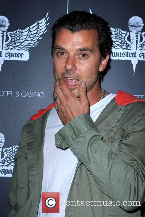 Gavin Rossdale Grand Opening of 'Wasted Space' nightclub...