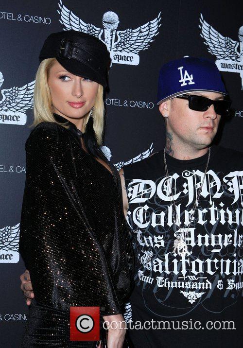 Paris Hilton and Benji Madden Grand Opening of...