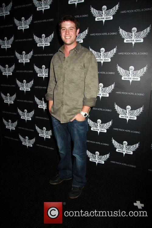 Ben Lyons Grand Opening of 'Wasted Space' nightclub...