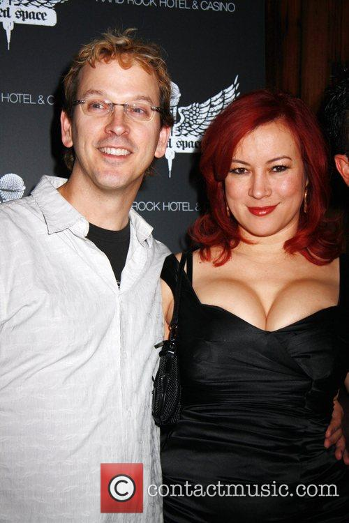 Phil Laak and Jennifer Tilly Grand Opening of...