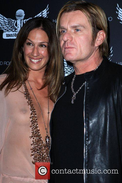 A J and Billy Duffy Grand Opening of...