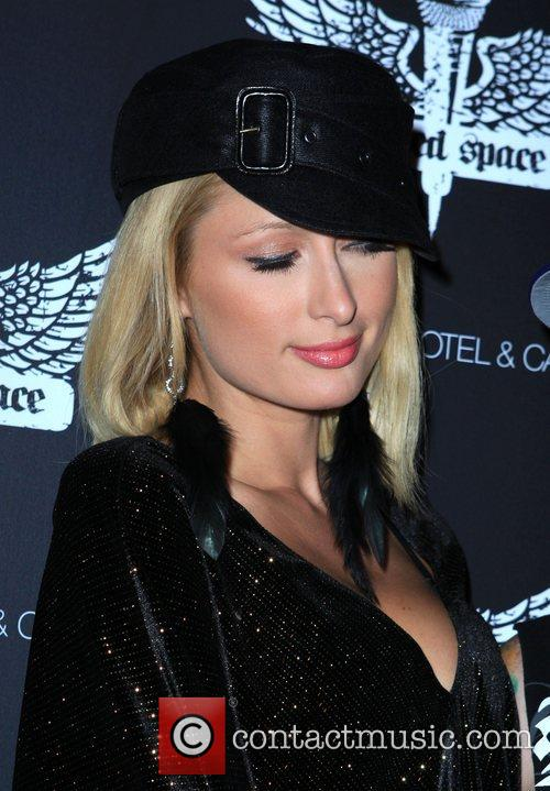 Paris Hilton Grand Opening of 'Wasted Space' nightclub...