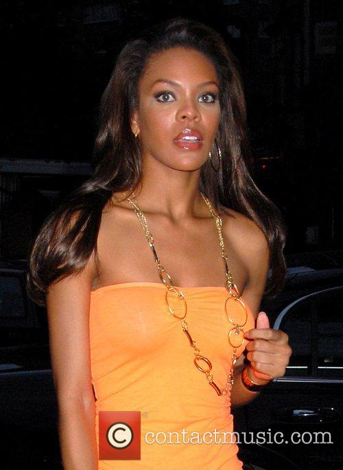 Crystle Stewart outside the Waverly Inn in the...