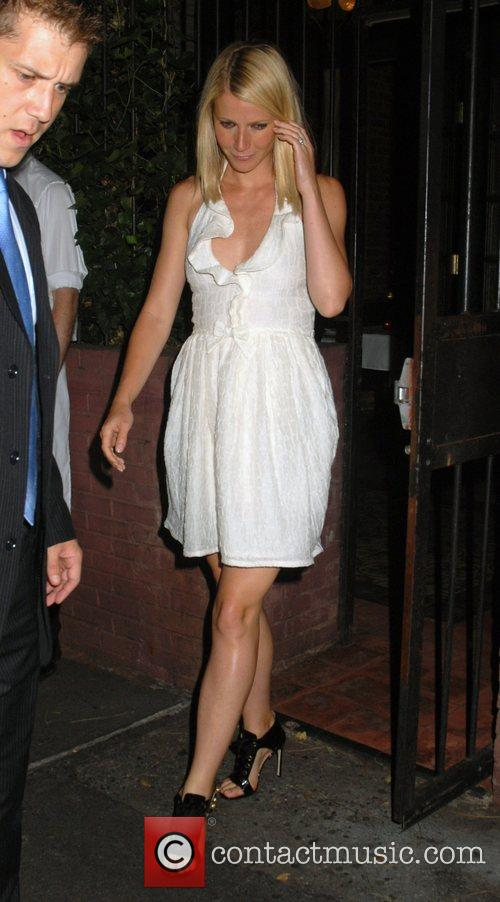 Gwyneth Paltrow outside the Waverly Inn in the...