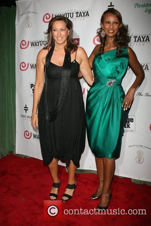 Donna Karen and Iman,  Wayuu Taya Foundation...