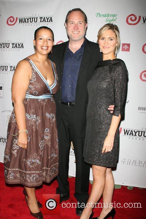 Elinor Tatum, Jon Turteltaub and Amy Turtelaub,...