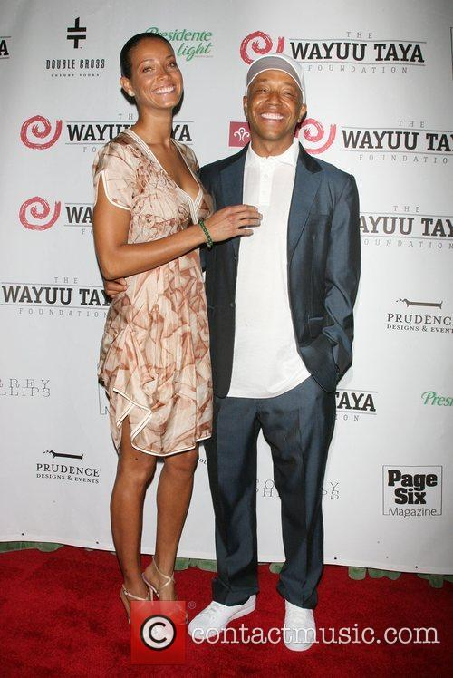 Porscha Coleman and Russell Simmons 4