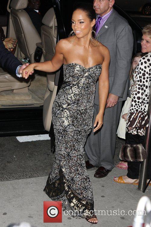 Alicia Keys and Angelina Jolie 10