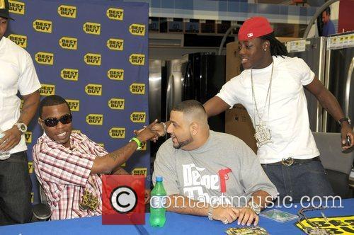 Brisco, DJ Khaled and Ace Hood DJ Khaled...