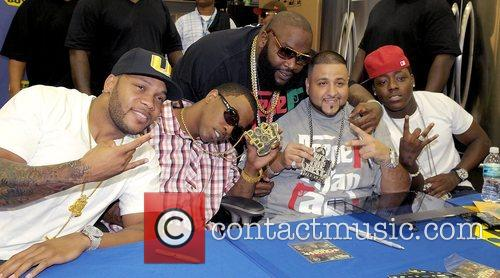 Flo Rida, Brisco, Rick Ross, Dj Khaled and Ace Hood 7