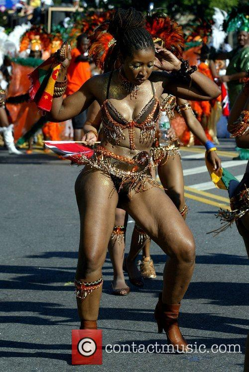 Revelers of the 41st West Indian American Day...