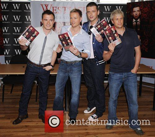 Booksigning for their new book 'Westlife- Our Story'...