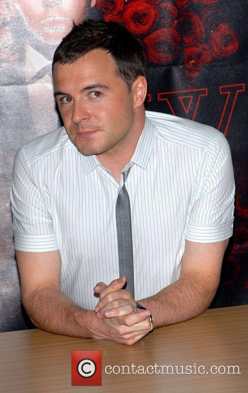 Shane Filan of Westlife at a booksigning for...
