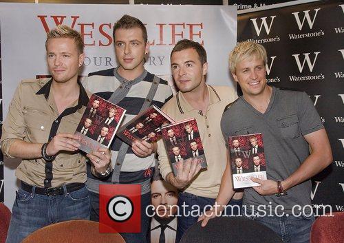 Mark Feehily and Shane Filan, Nicky Byrne, Kian...