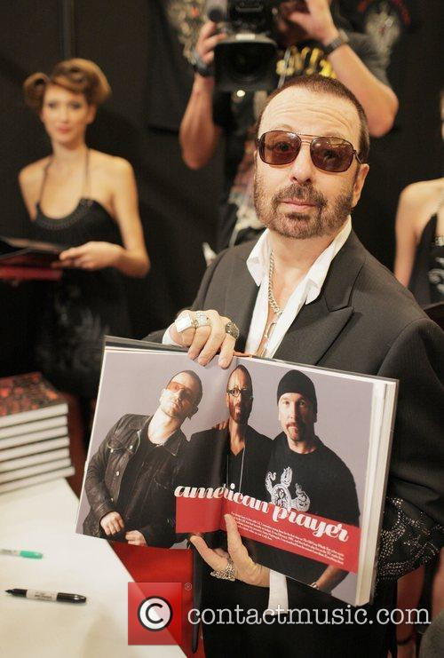 Dave Stewart signs copies of his book 'the...