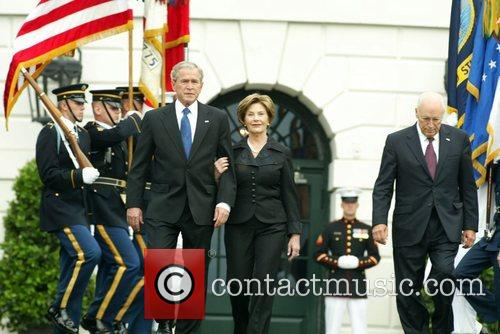 George Bush, Laura Bush and White House 8