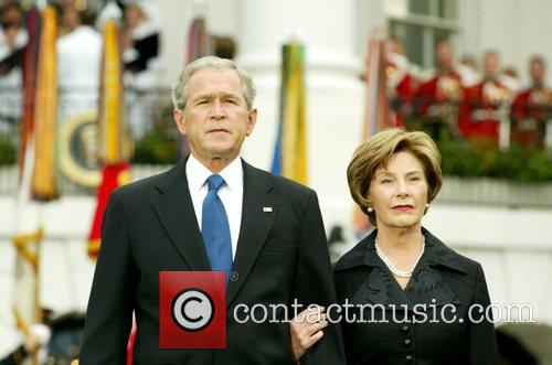 George Bush and White House 7