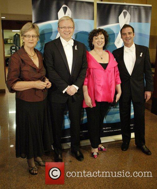 Libby Lloyd, Kevin Rudd, Therese Rein and Andrew...