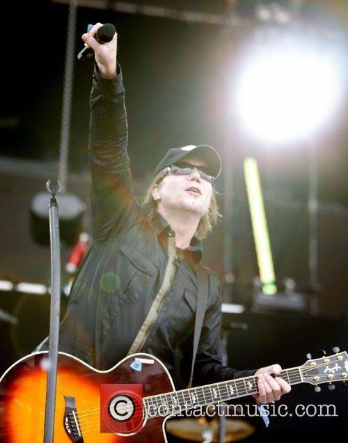Goo Goo Dolls, John Rzeznik, O2 Wireless Festival 2008, O2 Wireless