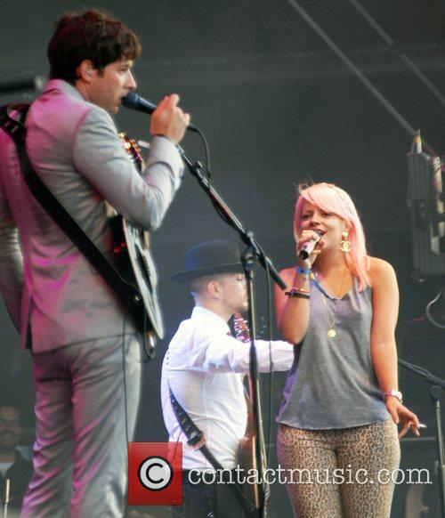 Mark Ronson and Lily Allen 2