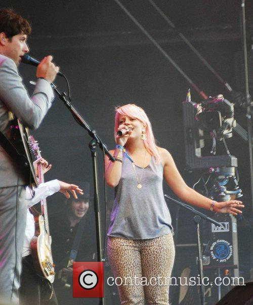 Mark Ronson and Lily Allen 1