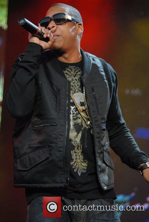 Jay-Z  The O2 Wireless Festival 2008 held...