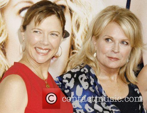 Annette Bening and Candice Bergen The LA premiere...