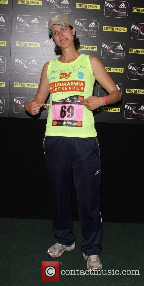 Heather Peace Adidas Women's Challenge run for Breast...
