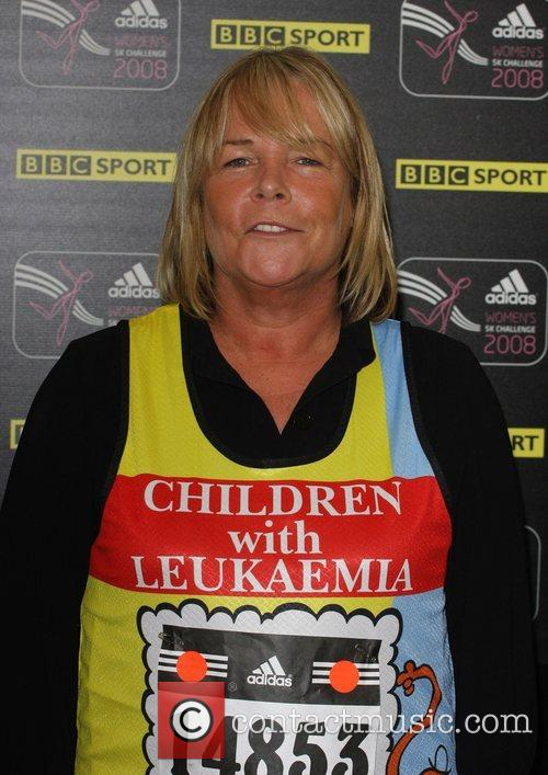 Linda Robson Adidas Women's Challenge run for Breast...