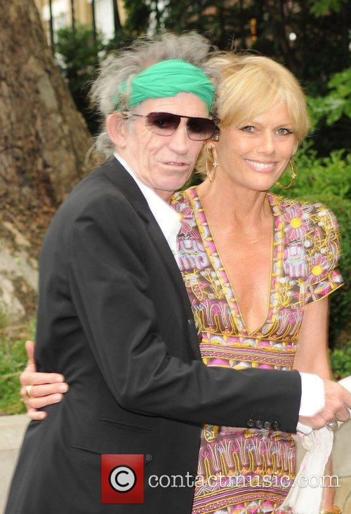 Keith Richards and Leah Wood 9