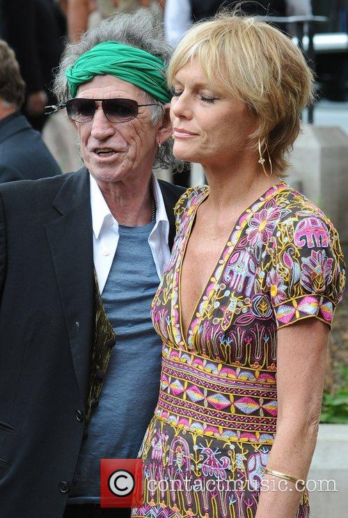 Keith Richards and Leah Wood 4