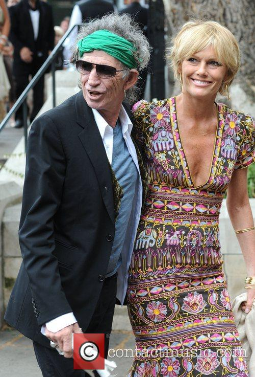 Keith Richards and Leah Wood 3