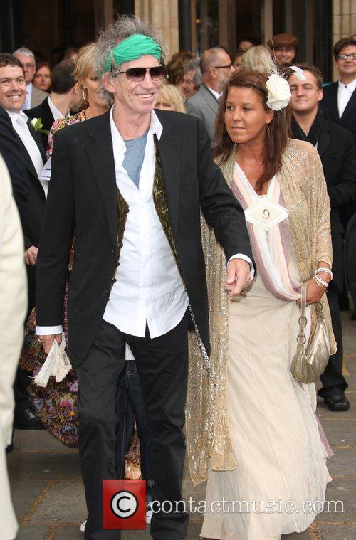 Keith Richards and Leah Wood 1