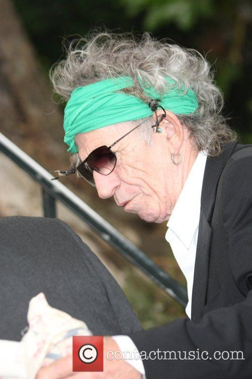 Keith Richards and Leah Wood 14