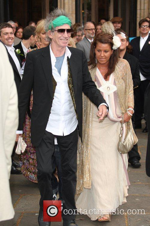 Keith Richards and Leah Wood 10