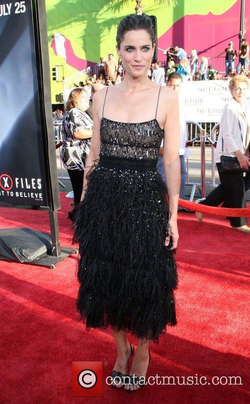 Amanda Peet and The X Files 1