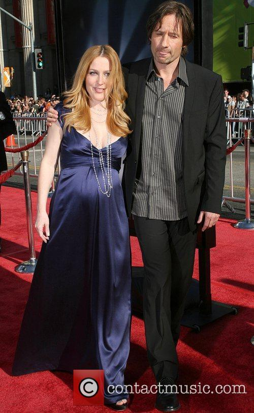 Gillian Anderson, David Duchovny and The X Files 3