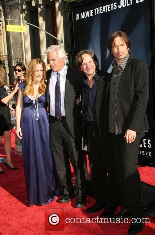 Gillian Anderson, Chris Carter and The X Files 4