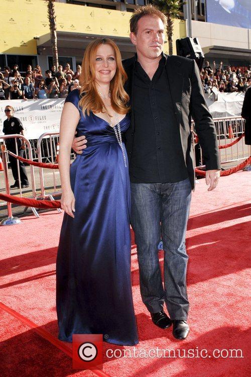 Gillian Anderson and Julian Ozanne World Premiere Of...