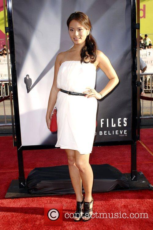 Jamie Chung and The X Files 3