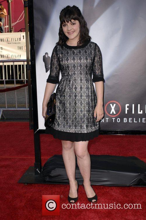 Madeleine Martin and The X Files 4