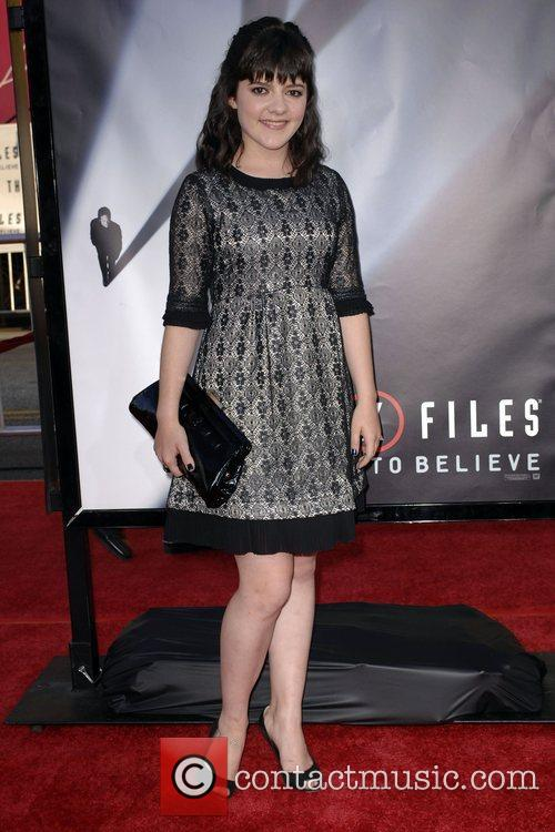 Madeleine Martin and The X Files 1