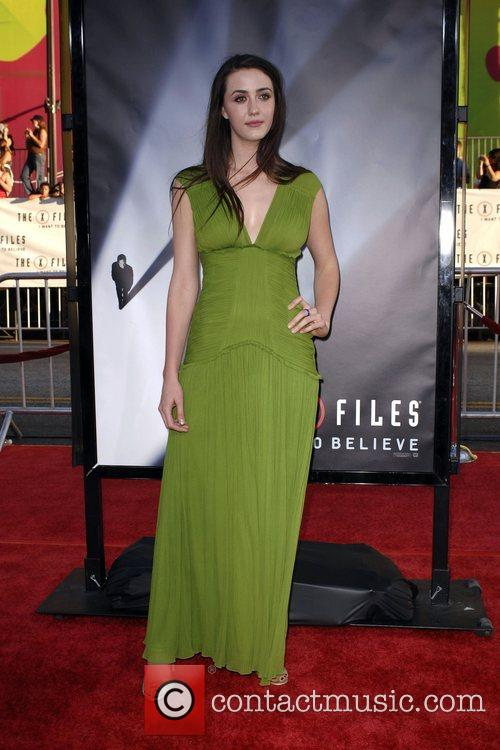 Madeline Zima and The X Files 7