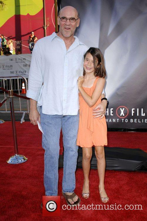 Mitch Pileggi and Daughter World Premiere Of The...