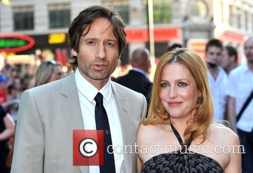 Gillian Anderson and David Duchovny 3